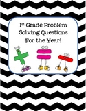 First Grade Problem Solving for the ENTIRE YEAR!
