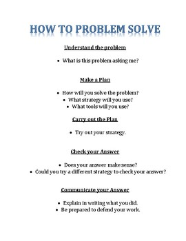 First Grade Problem of the Day