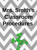 First Grade Procedure Book