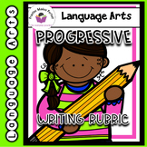 First Grade Progressive Writing Rubrics for the Year