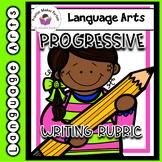 First Grade Progressive Writing Rubrics for the Year