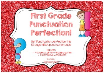First Grade Punctuation Pack