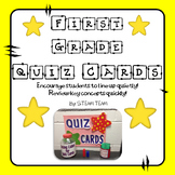 First Grade Task/Quiz Cards for Math, Reading, and L.A.