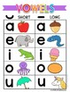 First Grade READ:  Vowel Sound Review 1
