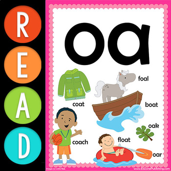 First Grade READ:  Vowel Team OA