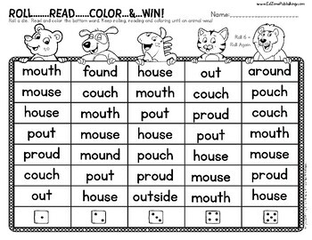 First Grade READ:  Vowel Team OU