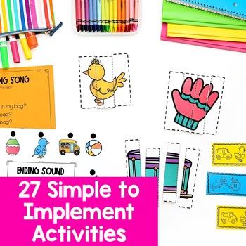 Phonemic Awareness Activities for Intervention