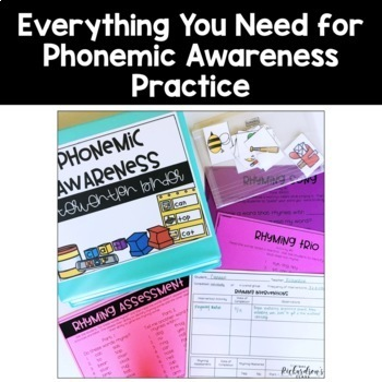 Phonemic Awareness Activities for Intervention | Distance Learning