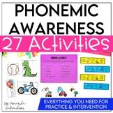 Phonemic Awareness Activities for Intervention | Distance