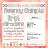 First Grade Reader's Theater Fluency Practice Scripts Bundle