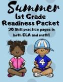 First Grade Readiness Packet | Kindergarten Review Skills
