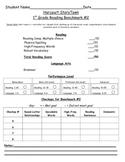 First Grade Reading Benchmark 2