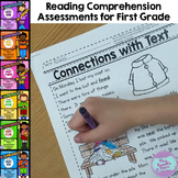 First Grade Reading Comprehension Assessments {PROGRESSIVE BUNDLE}