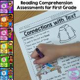 First Grade Reading Comprehension Assessments {PROGRESSIVE