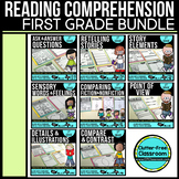 First Grade Reading Comprehension Bundle - All CCSS RL Standards Included