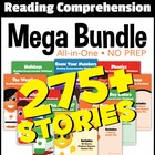 First Grade Reading Comprehension NO-PREP ALL-IN-ONE MEGA