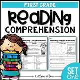 First Grade Reading Comprehension Passages - Set 1