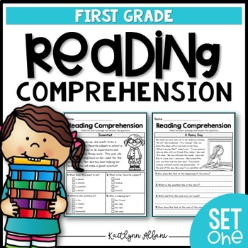 First grade reading comprehension passages pdf