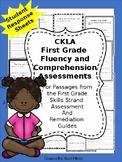 First Grade Reading Comprehension Response Sheets, CKLA Assessment & Remediation