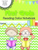 First Grade Reading Data Notebook-  Aligned to the Common Core