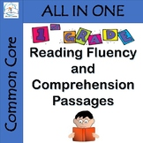 1st Grade Reading Fluency and Comprehension Passages BUNDLE