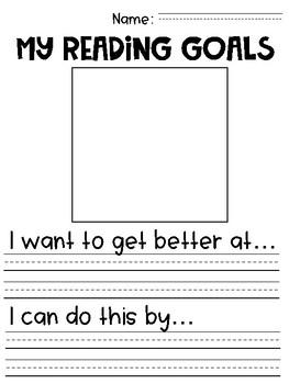 First Grade Reading Goals