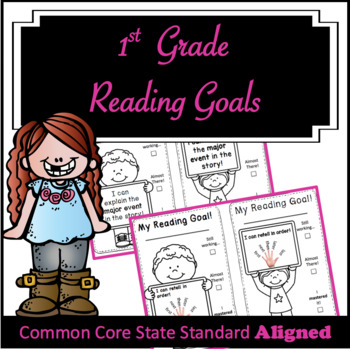 First Grade Reading Goals CCSS ALIGNED!!!!