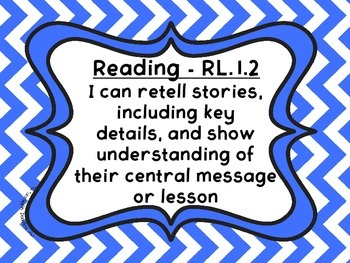 First Grade Reading I Can Statements