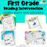 First Grade Reading Intervention