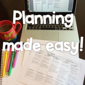 Journeys Lesson Plans First Grade Unit 2 {EDITABLE!}