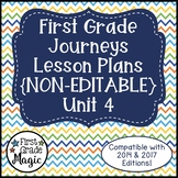 Journeys Lesson Plans 1st Grade Unit 4