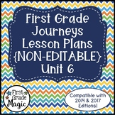 Journeys Lesson Plans 1st Grade Unit 6