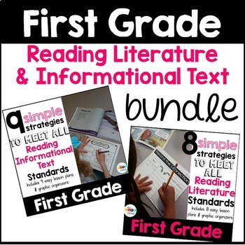First Grade: Reading Literature and Informational Text Strategies Bundle