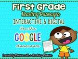 Google Drive Interactive First Grade Reading Passages - Long & Short Vowel Words