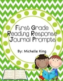 First Grade Reading Response Journal Prompts