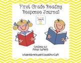 First Grade Reading Response Journal