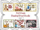 First Grade Reading Street Bundle - Unit 1