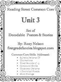 First Grade Reading Street Common Core: Unit 3 Decodable P