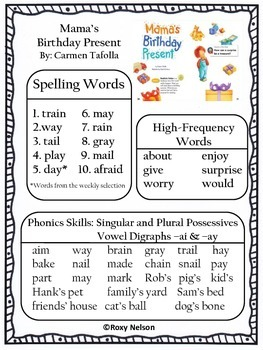 First Grade Reading Street Common Core: Unit 4 Decodable Posters and Stories