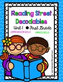 First Grade Reading Street Decodables Unit 1