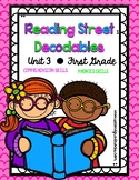 First Grade Reading Street Decodables Unit 3