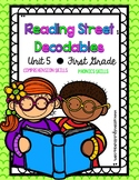 First Grade Reading Street Decodables Unit 5