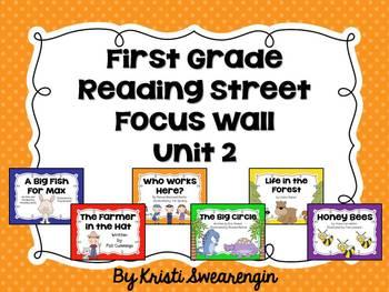 First Grade Reading Street Focus Wall Unit 2