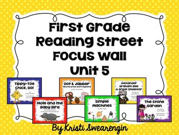 First Grade Reading Street Focus Wall Unit 5