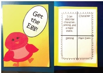 Reading Street Get the Egg Literacy Activities