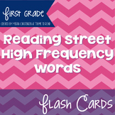 First Grade Reading Street High Frequency Word Flash Cards