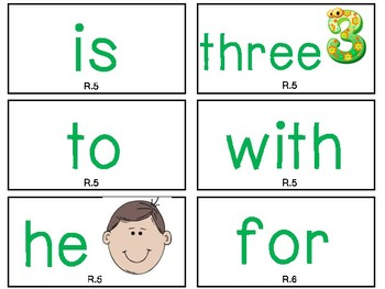 First Grade Reading Street High-Frequency Word Wall