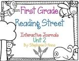 First Grade Reading Street Interactive Journal Unit 2