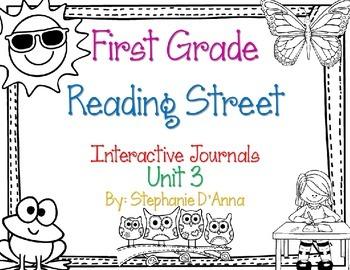 First Grade Reading Street Interactive Journal Unit 3