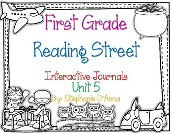 First Grade Reading Street Interactive Journal Unit 5